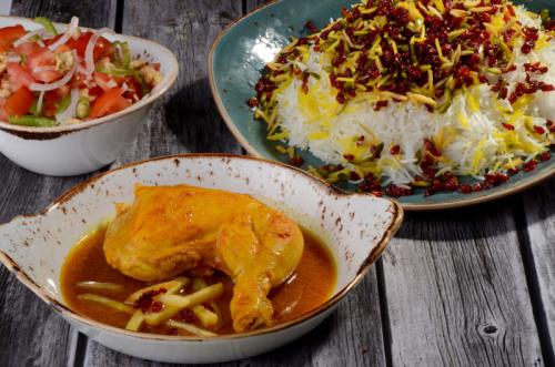 Zereshk Polow Ba Morgh Banoo Iranian Restaurant Dubai Marina